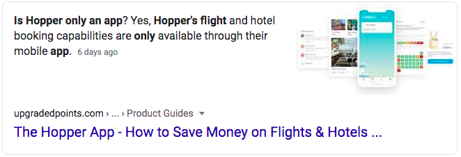 hooper was part of the Best Flight Search Engines 2020 test
