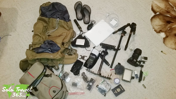 Packing the right items will help you To Stay Safe While Solo Traveling