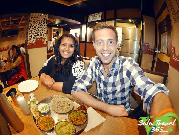 travel with strangers abroad is a wonderful way to try new food