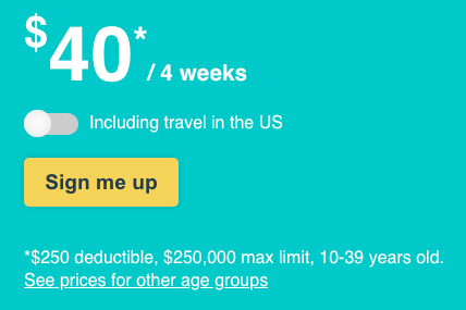 how to buy trip insurance online