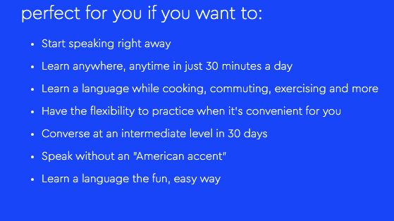 fast way to learn a new language