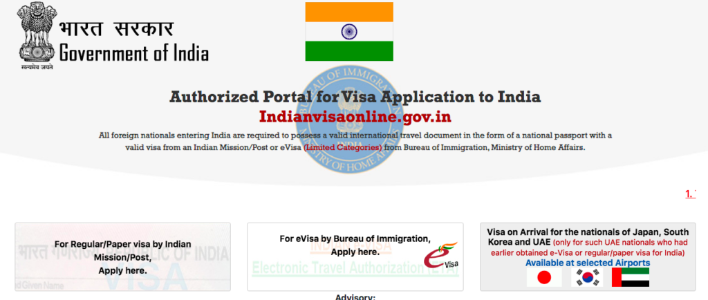 Some official government visa sites are confusing